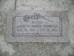 Lauretta <I>Barker</I> Thompson