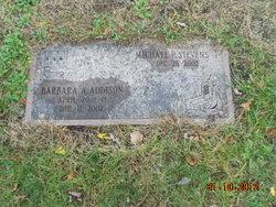Barbara A <I>Addison</I> Stevens