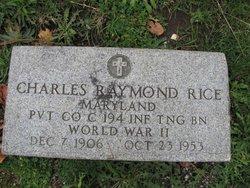 Charles Raymond Rice