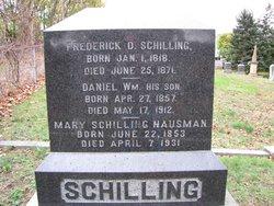 Frederick D Schilling