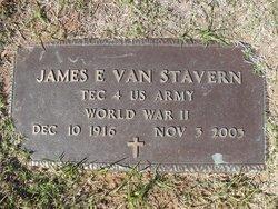 James E Van Stavern