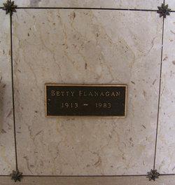 """Elizabeth Irma """"Betty"""" Flanagan"""