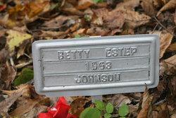 Betty Estep Johnson