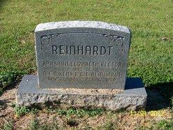 Barbara Elizabeth <I>Rector</I> Reinhardt