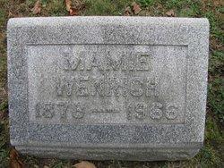 Mamie Wenrich