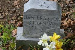 Jane <I>Braxton</I> Browning
