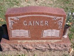 Archie E Gainer