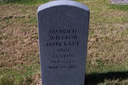 Sgt Harold William Haycraft
