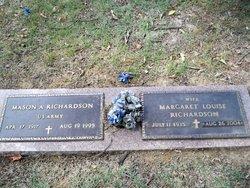 Margaret Louise <I>Lemser</I> Richardson