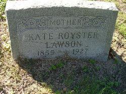 Kate H. <I>Alexander</I> Royster-Lawson