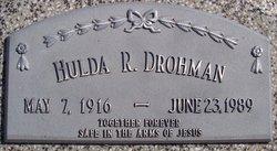 Hulda R <I>Kapperman</I> Drohman