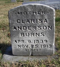 Clarisa <I>Anderson</I> Burns