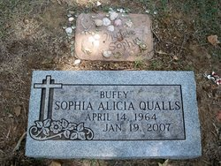 "Sophia Alicia ""Buffy"" Qualls"