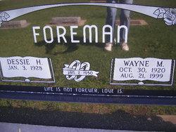 Wayne M Foreman