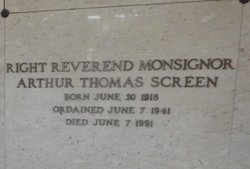 Rev Arthur Thomas Screen