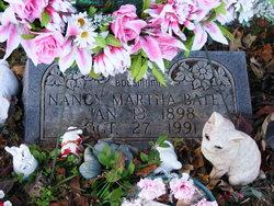 Nancy Martha <I>Spann</I> Batey