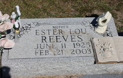 Ester Lou Reeves