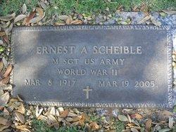 Ernest A Scheible