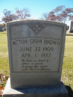 Acton Crim Brown