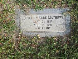 Lucille Marre Mathews