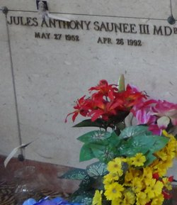 Dr Jules Anthony Saunee, III