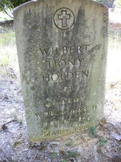 Sgt Wilbert Tiony Holden
