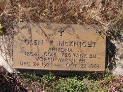 Glen F McKnight