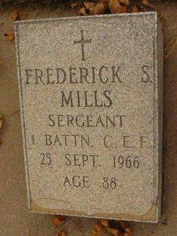 Frederick S Mills