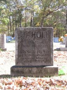 Jennie Lavinia <I>Mayo</I> Holt