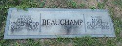 Mary Elizabeth <I>Keel</I> Beauchamp