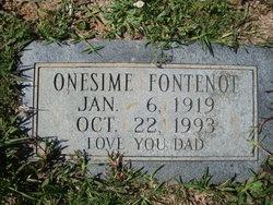 Onesime Fontenot
