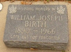 William Joseph Birth