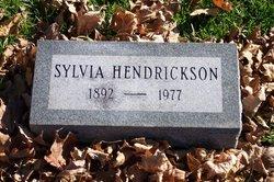 Sylvia Bell <I>Waldron</I> Hendrickson