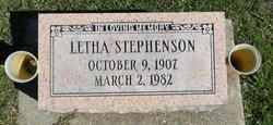 Letha Stephenson