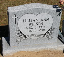 Lillian Ann Wilson