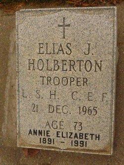 Elias John Holberton