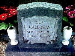 Ola Clarienda <I>Galloway</I> Galloway