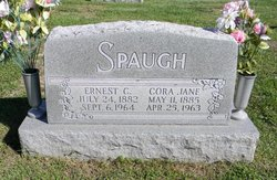 Cora Jane <I>Bline</I> Spaugh