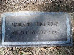 Margaret <I>Price</I> Cobb