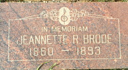 Jeanette R. Brode
