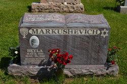 Mrs Beyla Markushevich