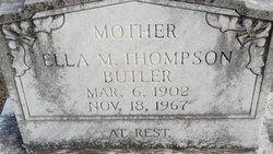 Ella M <I>Thompson</I> Butler