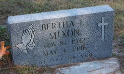 Bertha L. Mixon