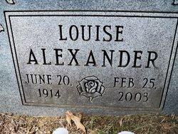 Louise Alexander