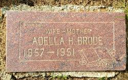 Adella <I>Hanna</I> Brode
