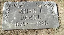 Minnie F. Daniel