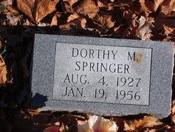 Dorthy M Springer