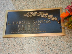 E Harold Sansom