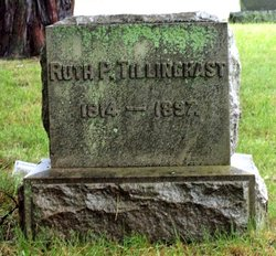 Ruth P Tillinghast