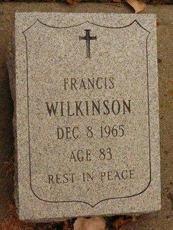 """Francis Watson """"Frank"""" Wilkinson"""